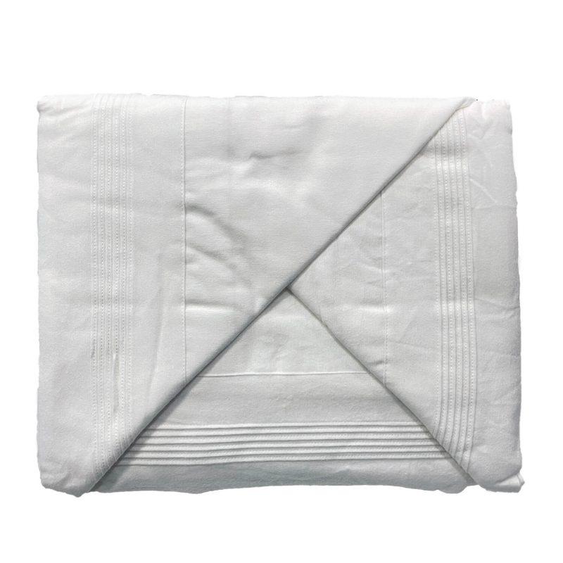 Juago sábana franela blanco