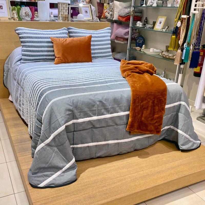 bouti Mils gris - cama 135 150
