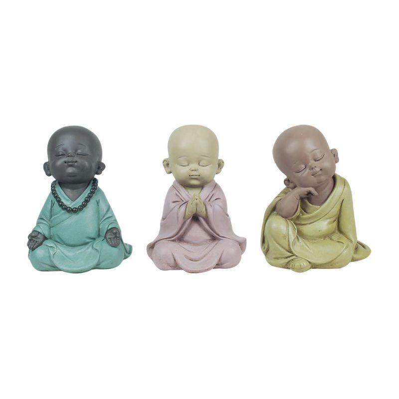 Set Monjes sentados